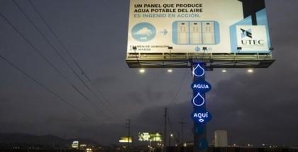 Aqua billboard