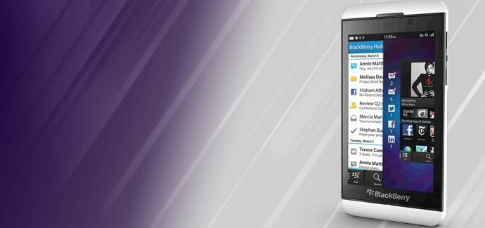 """Blackberry Z10 – Myynti ollut """"rohkaisevaa"""""""