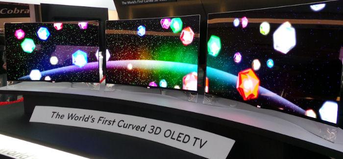 LG:n kaareva OLED-televisio kauppojen hyllyille vielä tämän vuoden aikana?