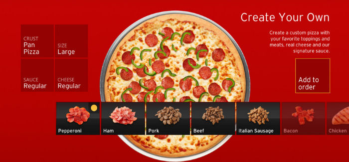 Pizza Hutin uusi Xbox -sovellus. Tilaa pizza konsolin kautta?