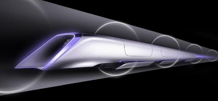 Hyperloop – Matkusta putkessa 1300 kilometrin tuntivauhtia!