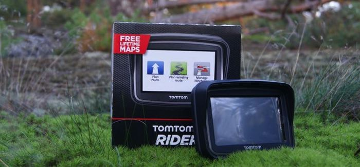Pikatestissä TomTom Rider – Motoristin oma navigaattori