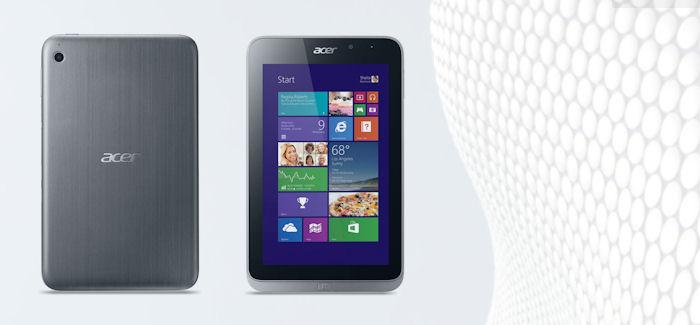 Acer Iconia W4 julkistettu: Pieni, halvemman hintaluokan tabletti