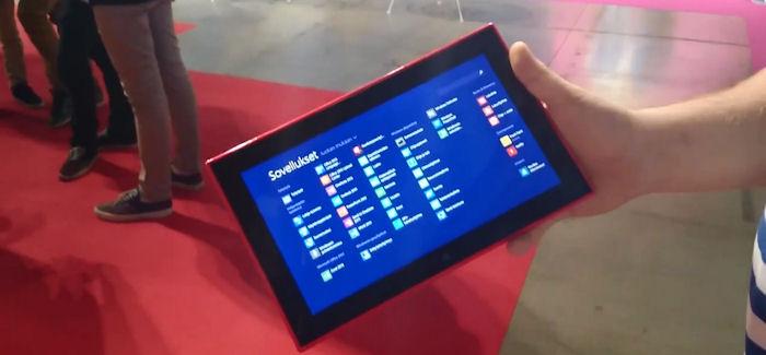 DigiExpo 2013: Nokia Lumia 2520 ensi-tuntumat!