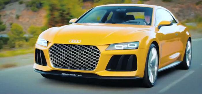 Katso: Audio Sport Quattro Laserlight – Onko tässä tulevaisuuden auto?