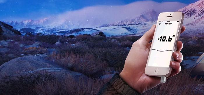 Thermodo – Muuta älypuhelimesi lämpömittariksi