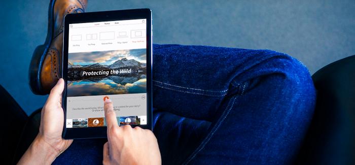 Adobe Voice – Kerro tarinasi tällä iPad -sovelluksella