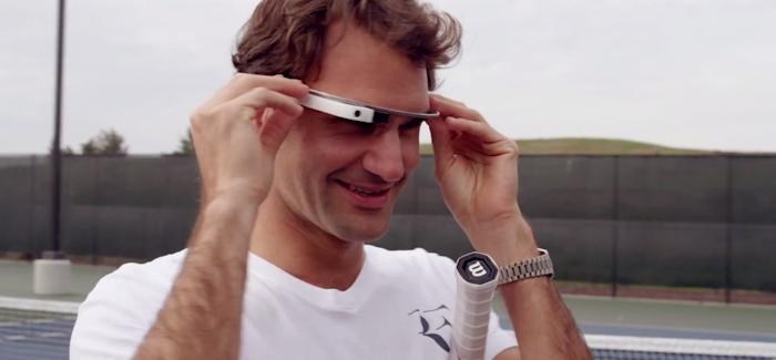Google Glass: Miltä peli näyttää Roger Federerin silmin?