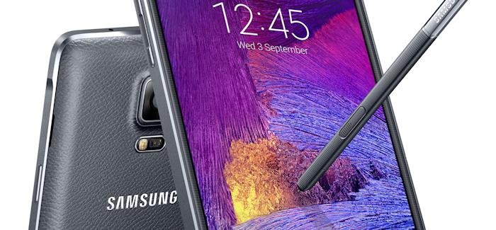 Uusi Samsung Galaxy Note 4 julkistettu