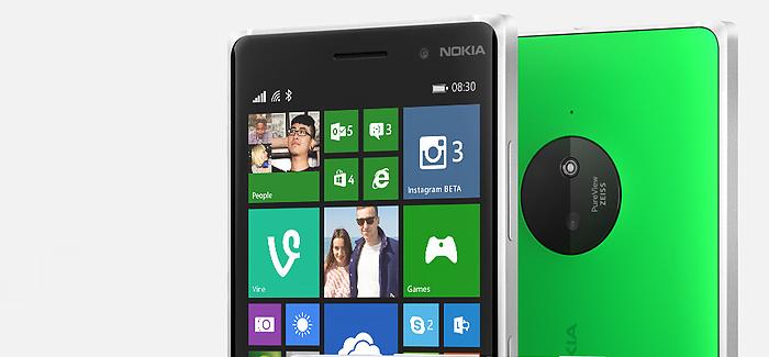 Microsoft julkisti Lumia 830 -älypuhelimen: ohut ja kuvauksellinen