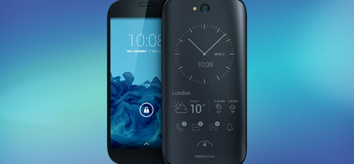 YotaPhone 2 puhelimen myynti alkoi Suomessa