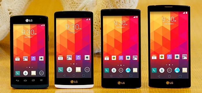 LG julkaisi neljä uutta älypuhelinmallia
