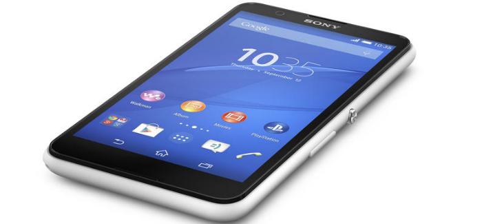 Sony paljasti uuden Xperia E4 älypuhelimen